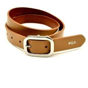 Lauren Ralph Lauren Womens Leather Belt Small NWT